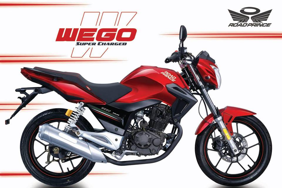 road prince 150cc wego new model 2016 launched. Black Bedroom Furniture Sets. Home Design Ideas