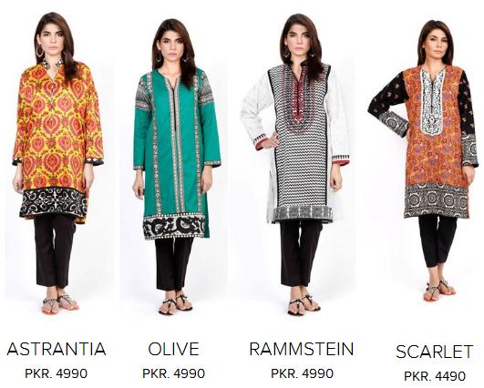Sana Safinaz Ladies Winter Dresses Collection Price in ...