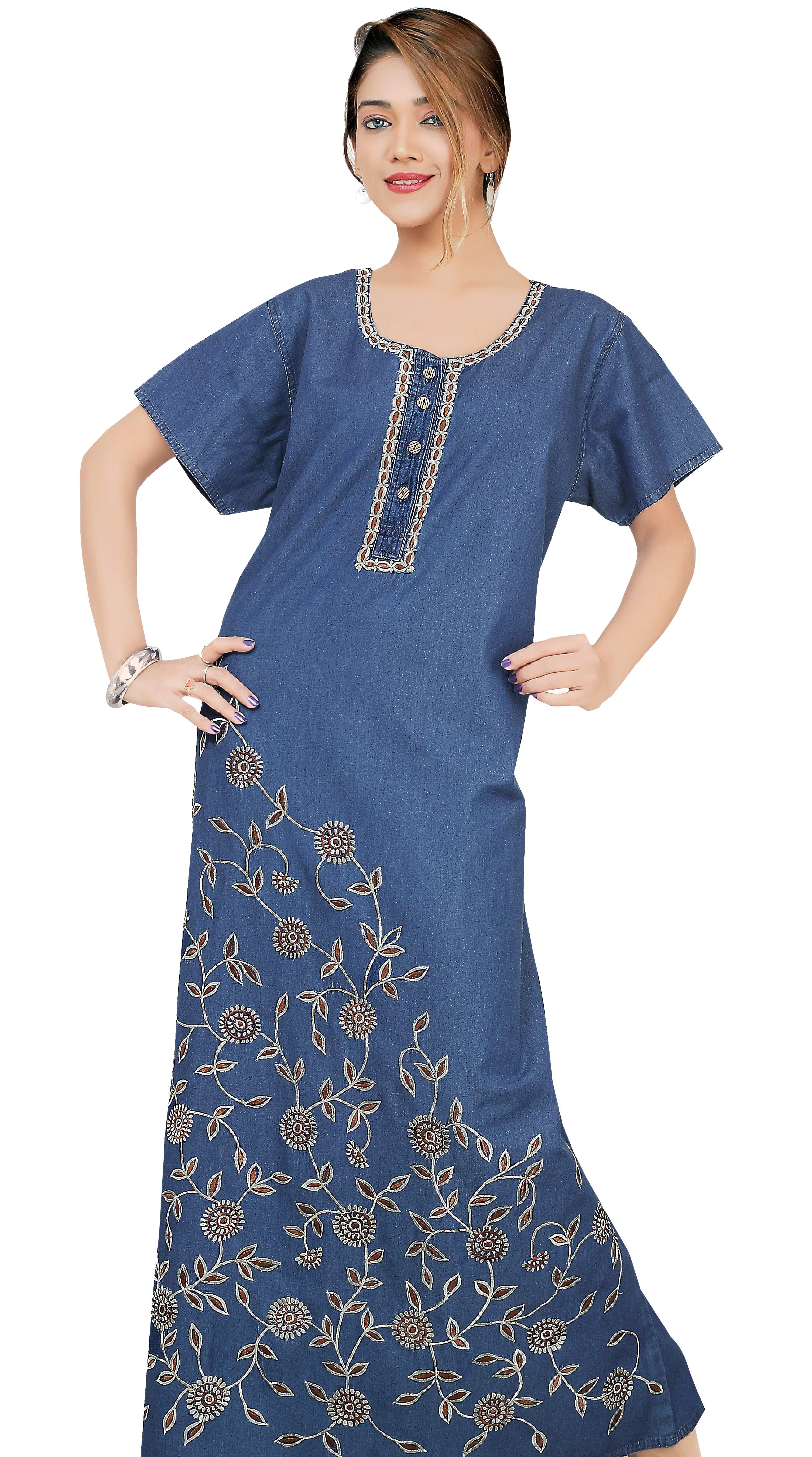 Latest Design Ladies: Indian Women Nightwear Latest Nighty Designs And Style